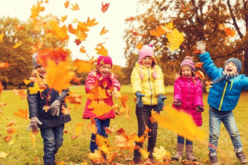 ילדים מאושרים בקנדה