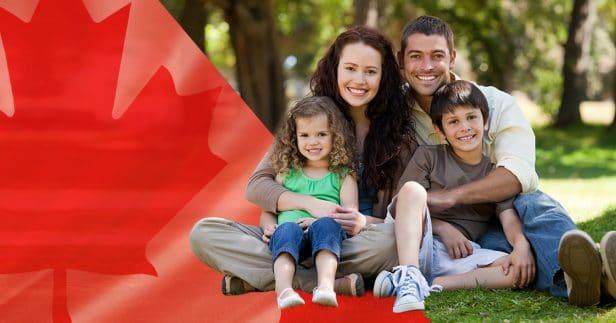 משפחה בקנדה